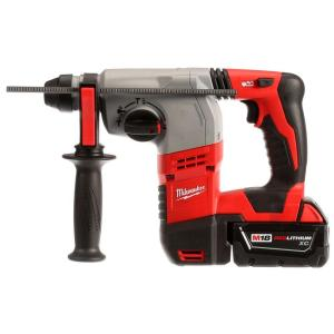 Milwaukee M18 Rotary hammer drill that's American made and packs a lot of features with quality in mind.
