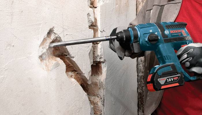 See our Bosch cordless hammer drill tackle a tough project in actiondril