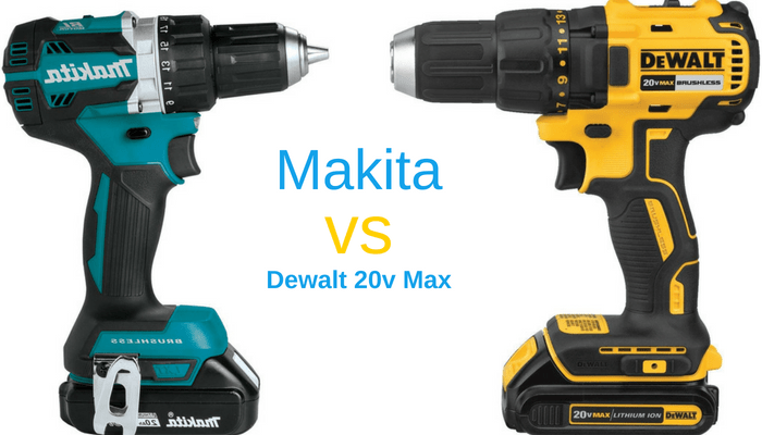 Makita Vs Dewalt Cordless Drill Who Wins This Battle Of The Drills